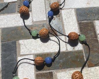 Wacky Walnut Necklace
