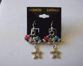 Patriotic Earrings