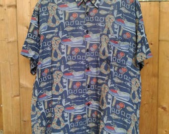 Nautical Printed Shirt (L)