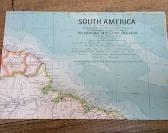 1966 national geographic africa map supplement africa 1966 national geographic map of south america february 1960 gumiabroncs Choice Image