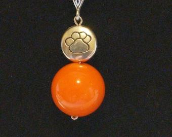 Clemson Tiger necklace