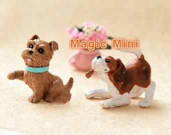 Dolls House Miniature Cute Puppies