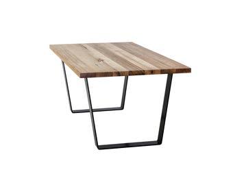 Flat Steel Dining Table legs