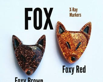 Fox X-Ray Markers, Customizable!