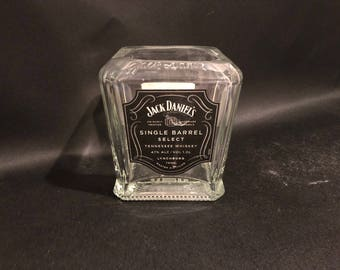 1 Liter vs 750ML Jack Daniels Candle Single Barrel Select Tennessee Whiskey  Bottle Soy Candle.Made To Order