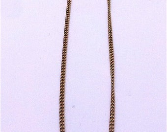 Victorian necklace in 15 carat gold