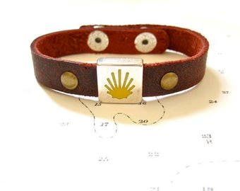 Way of St James bracelet from Spain's Camino de Santiago