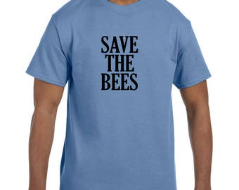 Funny Humor Tshirt Save The Bees model xx50380