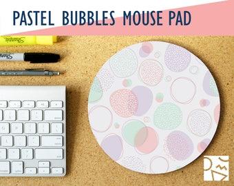 Toll Pastell Blasen Runde Mousepad, Büroeinrichtung, Mitarbeiter Geschenk   Büro  Schreibtisch Accessoires
