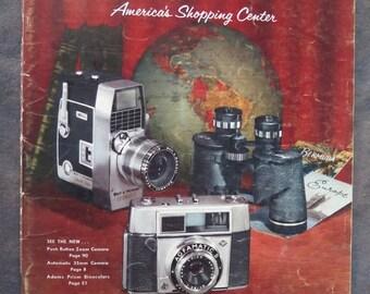 Vintage 1961 Montgomery Ward Camera Catalog