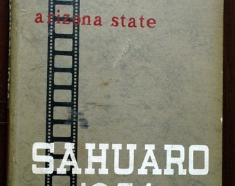 1954 Arizona State Tempe Sahuaro Yearbook / Annual