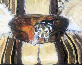 "6"" x 6"" yorkshire terrier 
