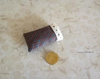 Miniature pillow case, 1:12th scale