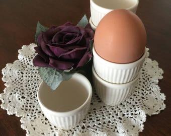 Set of 6 beautiful Wedgwood Windsor eggcups