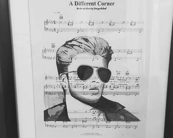 George Michael art