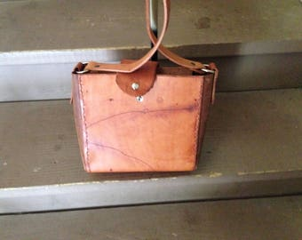 Hand crafted Leather bag