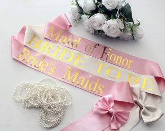 Bride Sash, Bachelorette Sash, Bridesmaid, Bachelorette Party, Bridesmaid, Bridal sash, Maid of Honor, Personalised, Bachelorette Bash 2018