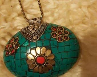 Tribal vintage necklace