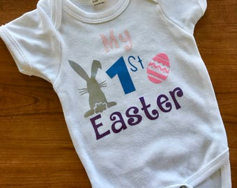 My First Easter onesie, First holidays