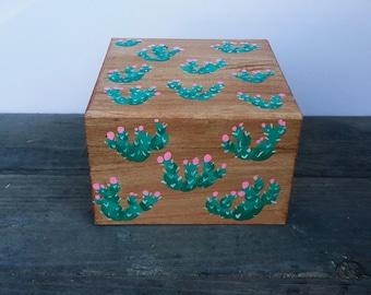 Prickly Pear Cactus Box