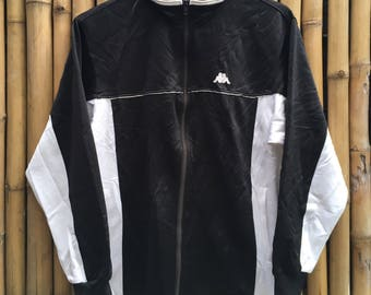 90s KAPPA Two-Tone Track Jacket