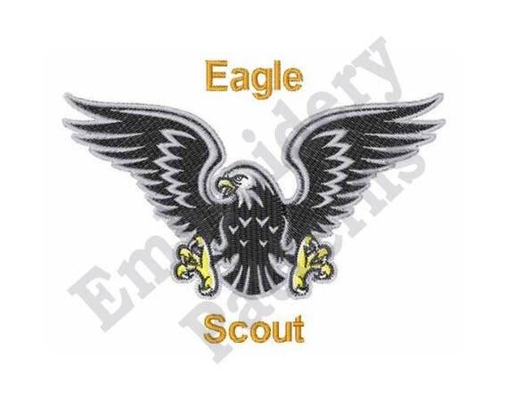Eagle Scout Machine Embroidery Design