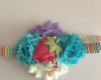 Strawberry patch headband