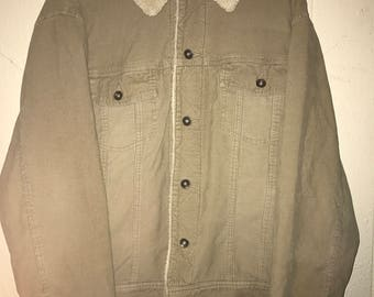 Vintage Corduroy Barn Jacket