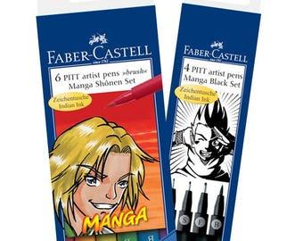 Faber Castell Pitt Artist Pen Manga