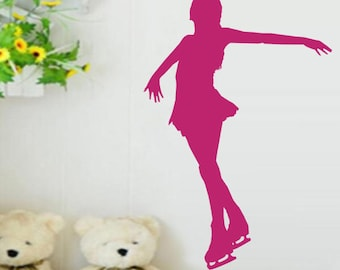 """""""Woman skater"""" decal"""
