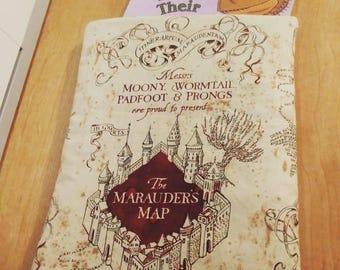 Book sleeve! Harry Potter Marauders Map!