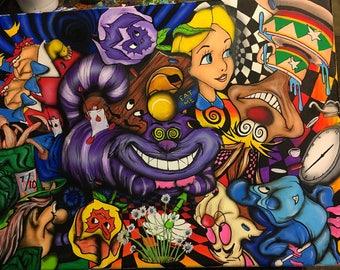 Down the rabbit hole prints