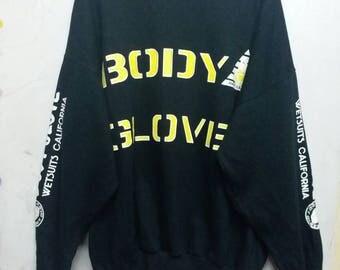 Vintage 90s Body Glove sweatshirt L