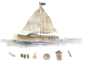 A Boat Named Run Away Home