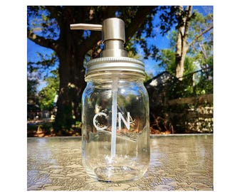 Custom Mason Jar Dispenser
