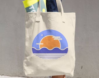 Day Ocean Hand Tote