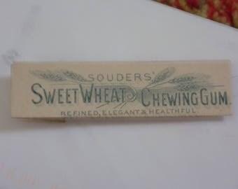 SWEET WHEAT Chewing Gum - VERY Scarce - Seldom Seen