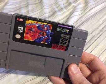 Mega Man 7 SNES Super Nintendo RETRO cartridge MegaMan Capcom