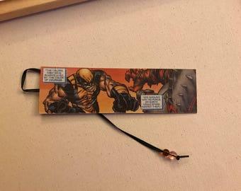Authentic X-Men Comic Strip Bookmark