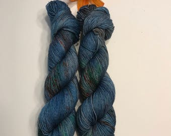 Cliffs of Insanity - hand dyed yarn