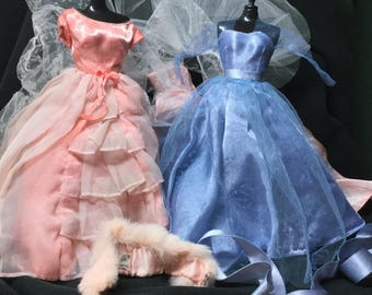 TLC & Altered Vintage Barbie Outfit pieces for Barbie Crafters