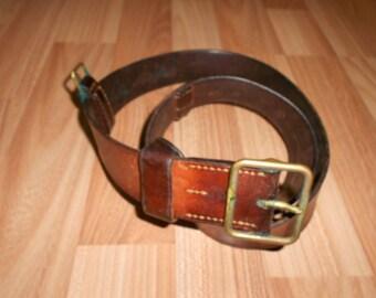 Swiss army officer belt