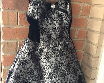 Gothic victorian dress size small