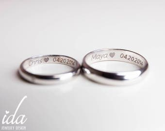 promise rings etsy no