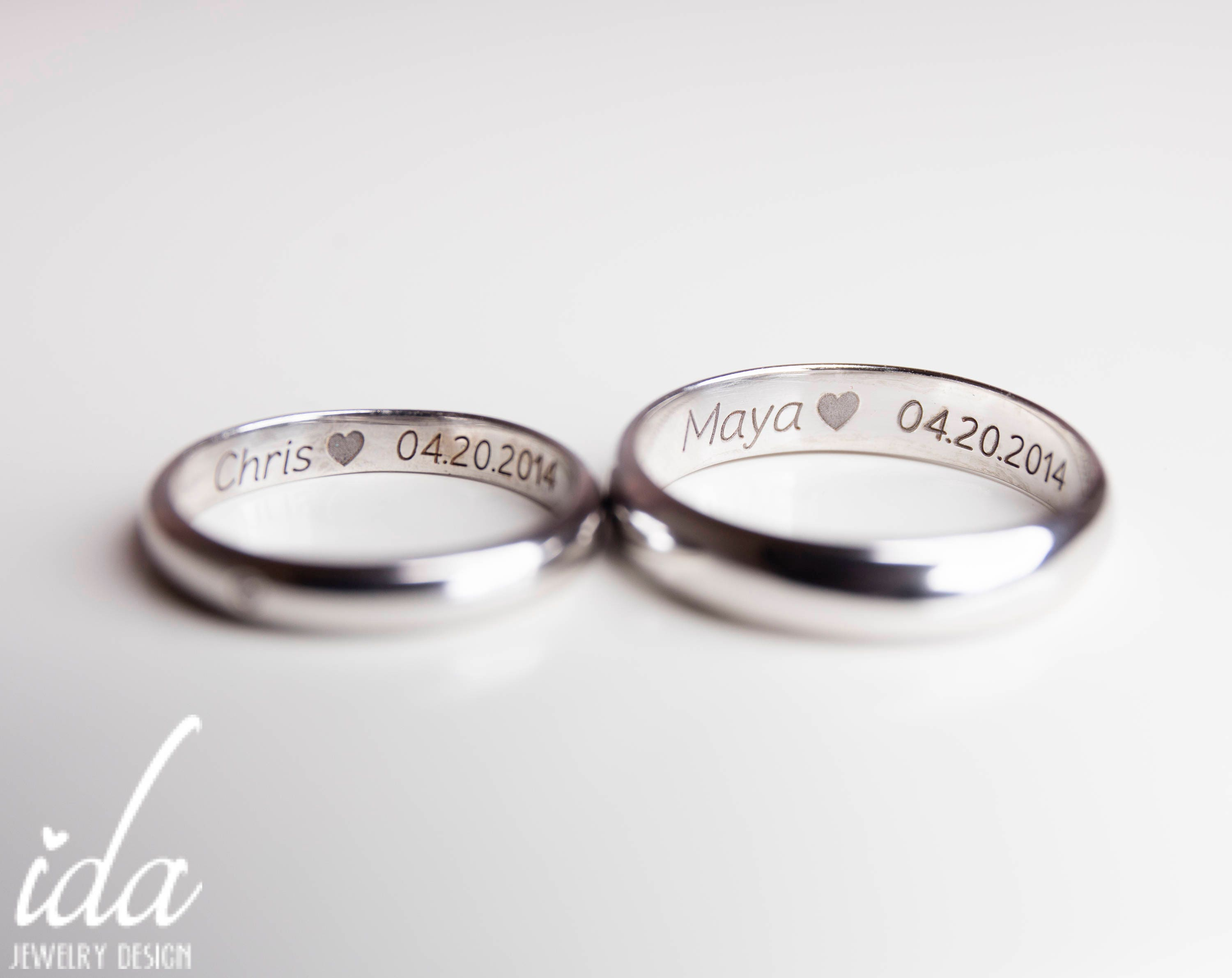 his and her promise rings for coupleswedding band set white. Black Bedroom Furniture Sets. Home Design Ideas