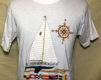 35% OFF SALE Vintage 80s Bahamas 1980s Travel tourism SOFT t shirt - vintage tees - vintage t shirt - 80s shirt (Medium)