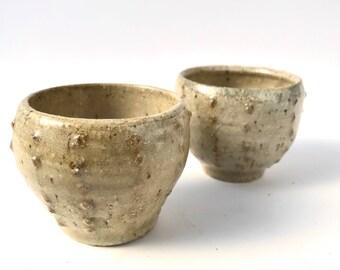 Small Urchin bowls | Set of 2 | Chun 1 Glaze | Wheel thrown Ceramics | FREE SHIPPING