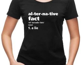 Alternative fact women's T-shirt