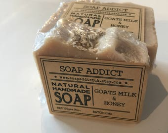 Goats Milk & Honey handmade soap