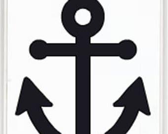 Anchor Vinyl Sticker